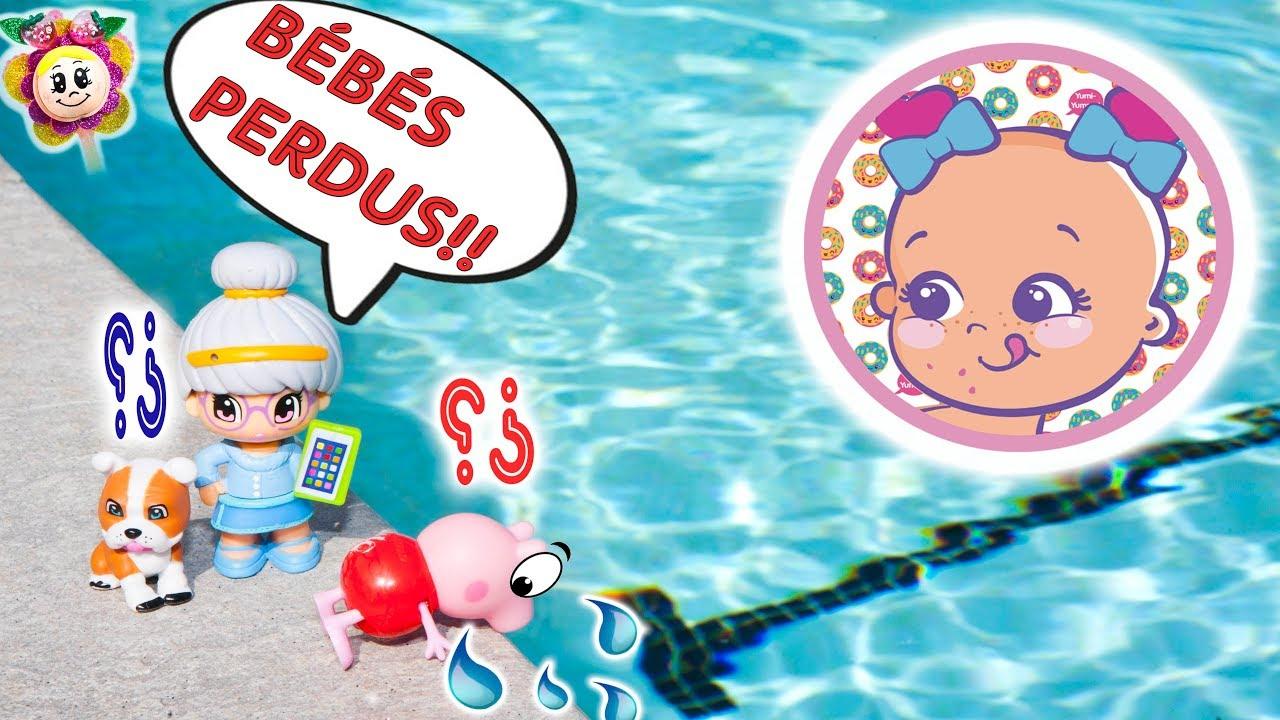 Attention! Les Bébés Bellies De Peppa Pig Ont Disparu pour Peppa Pig A La Piscine