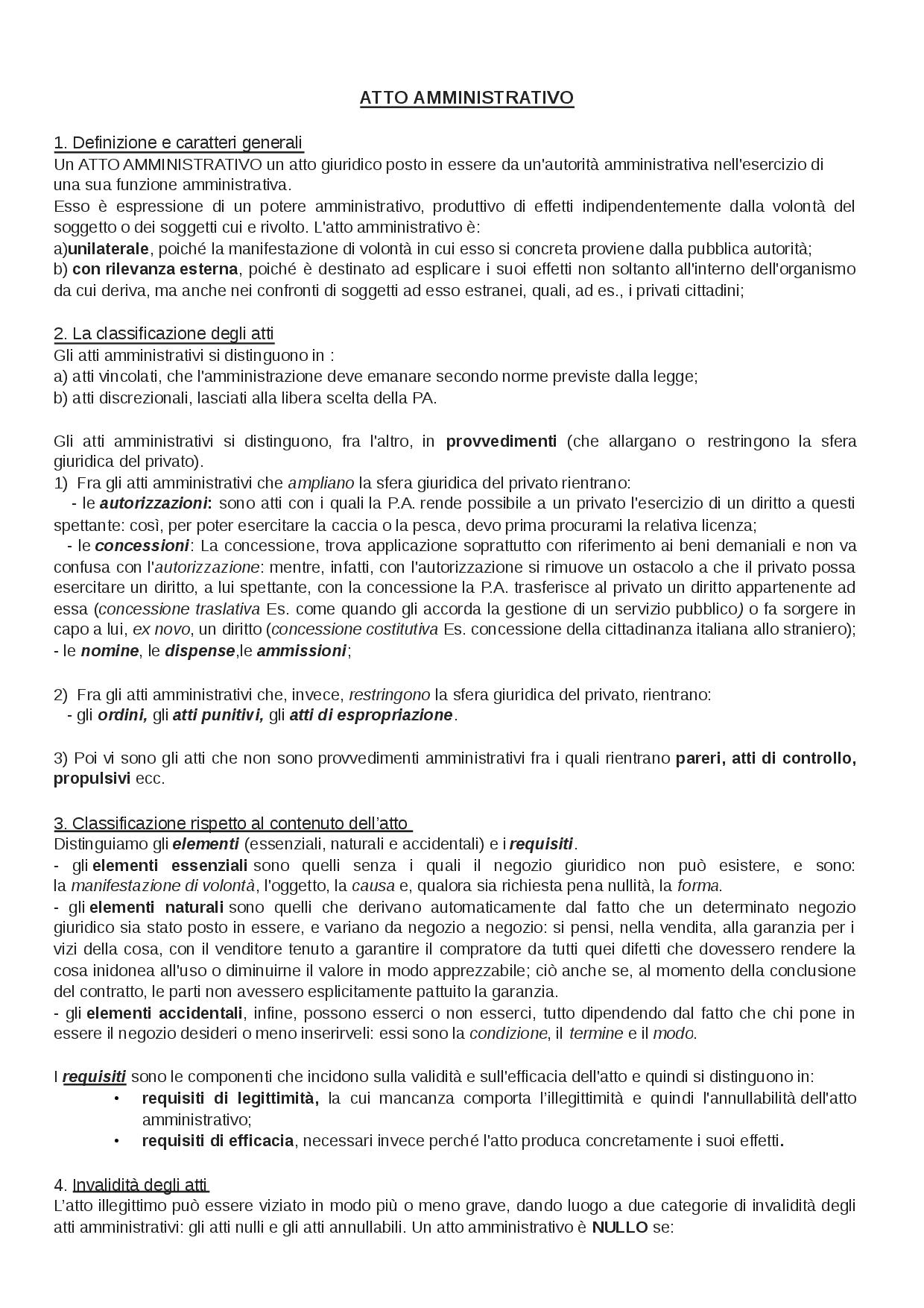 Atti Amministrativi - Capitolo Di Contabilità Di S Di avec Docsity