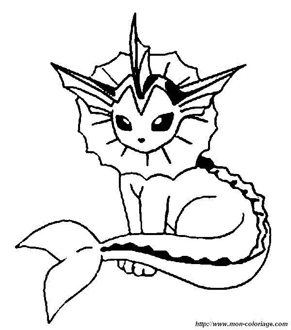 Ausmalbilder Aquana 01 | Pokemon Skizze, Zeichenvorlagen destiné Coloriage Pokemon Evoli