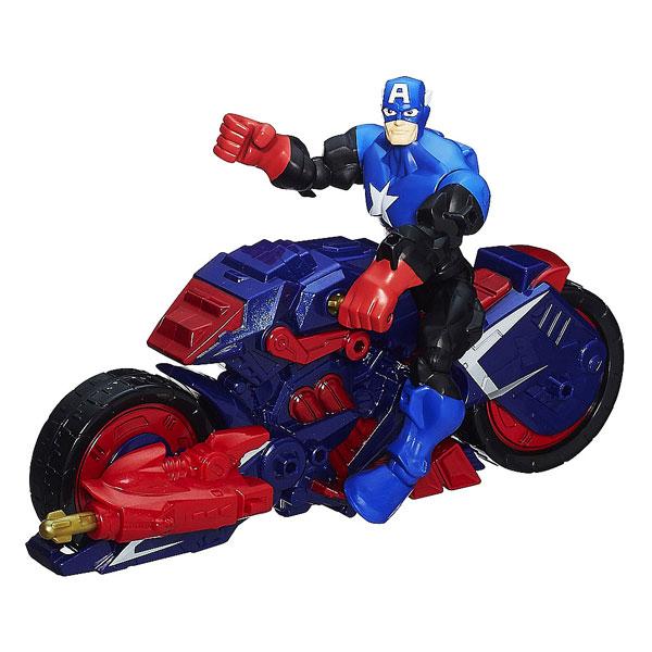Avengers Figurine Et Son Véhicule - Captain America Hasbro concernant Jeux De Iron Man Gratuit