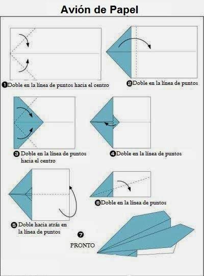 Avión Flecha De Papel | Papiroflexía Para Niños dedans Origami Facile Avion