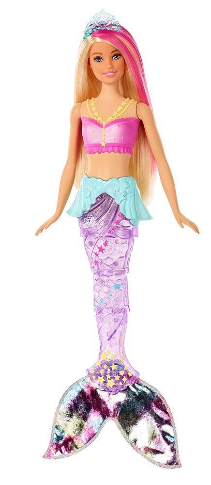 Barbie Dreamtopia Sirène Lumières & Danse Multicolor serapportantà Barbie Sirene A La Plage