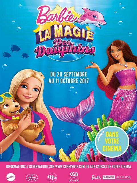 Barbie Et La Magie Des Dauphins, Un Film De 2017 - Vodkaster encequiconcerne Barbie Et La Magie Des Dauphins Dessin ? Imprimer