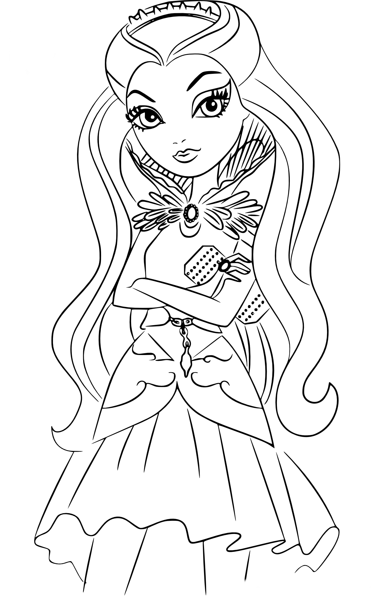 Barbie Jeux De Fille Gratuit destiné Coloriage Eva Queen A Imprimer