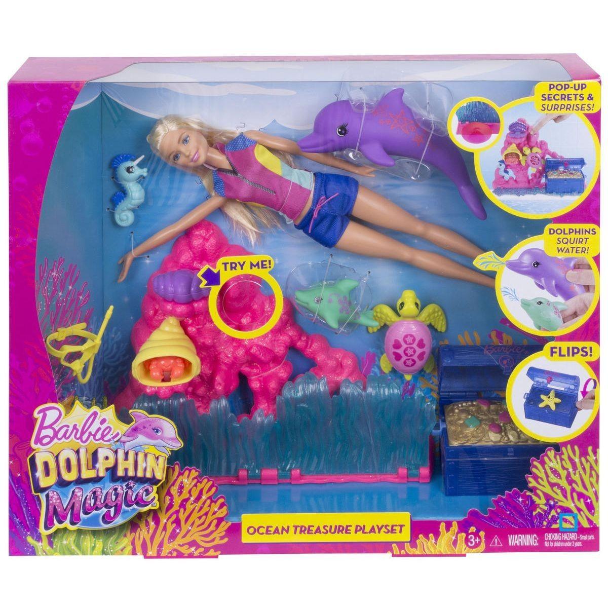 Barbie La Magie Des Dauphins - Taille : Taille Unique à Barbie Et La Magie Des Dauphins Dessin ? Imprimer