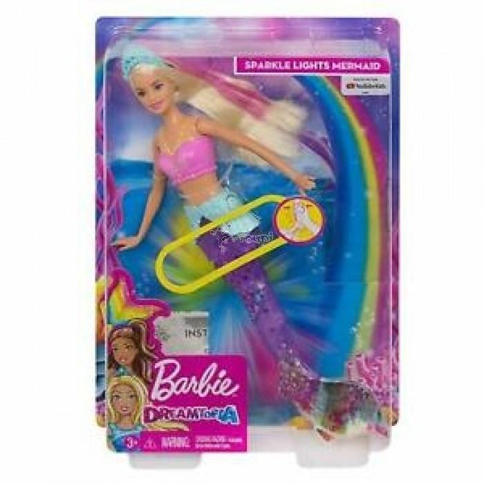 Barbie Sirène Dreamtopia Lumières_ Mattel _ Gfl82 à Barbie Sirene A La Plage Translation