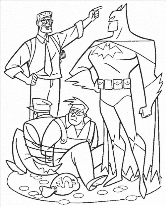Batman Coloring Pages concernant Coloriage Batman