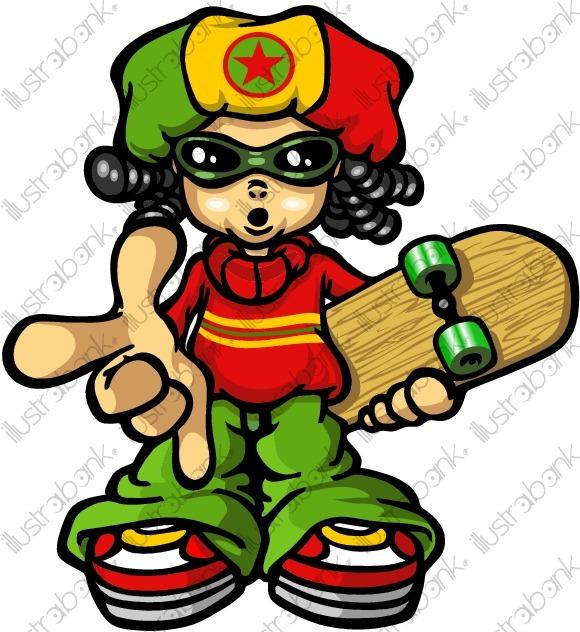 Bboyz Rasta 05 Illustration Libre De Droit Sur encequiconcerne Dessin De Rasta