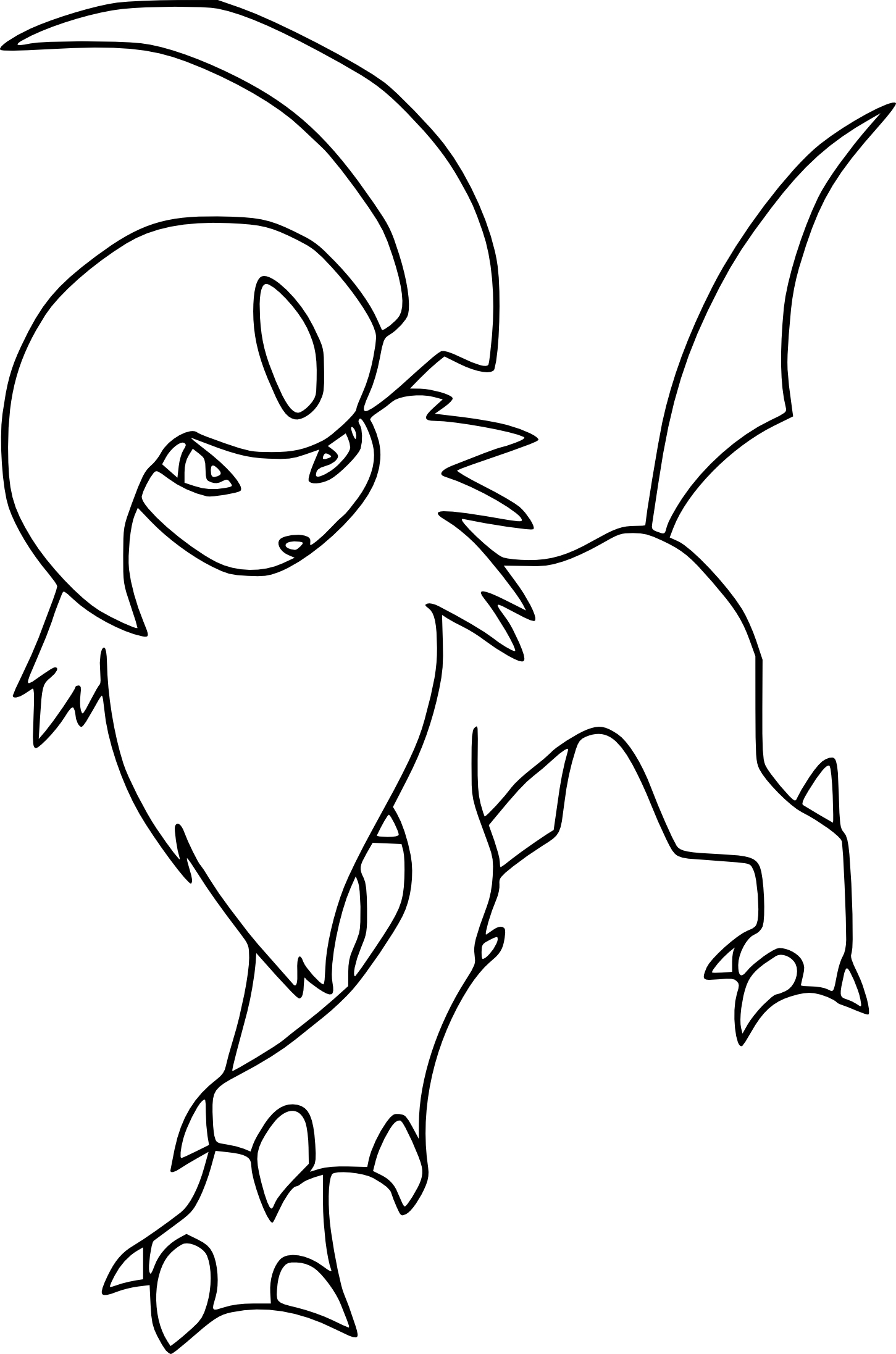 Beau Dessin A Imprimer Pokemon Absol – Mademoiselleosaki avec Coloriage À Imprimer Pokemon Xy