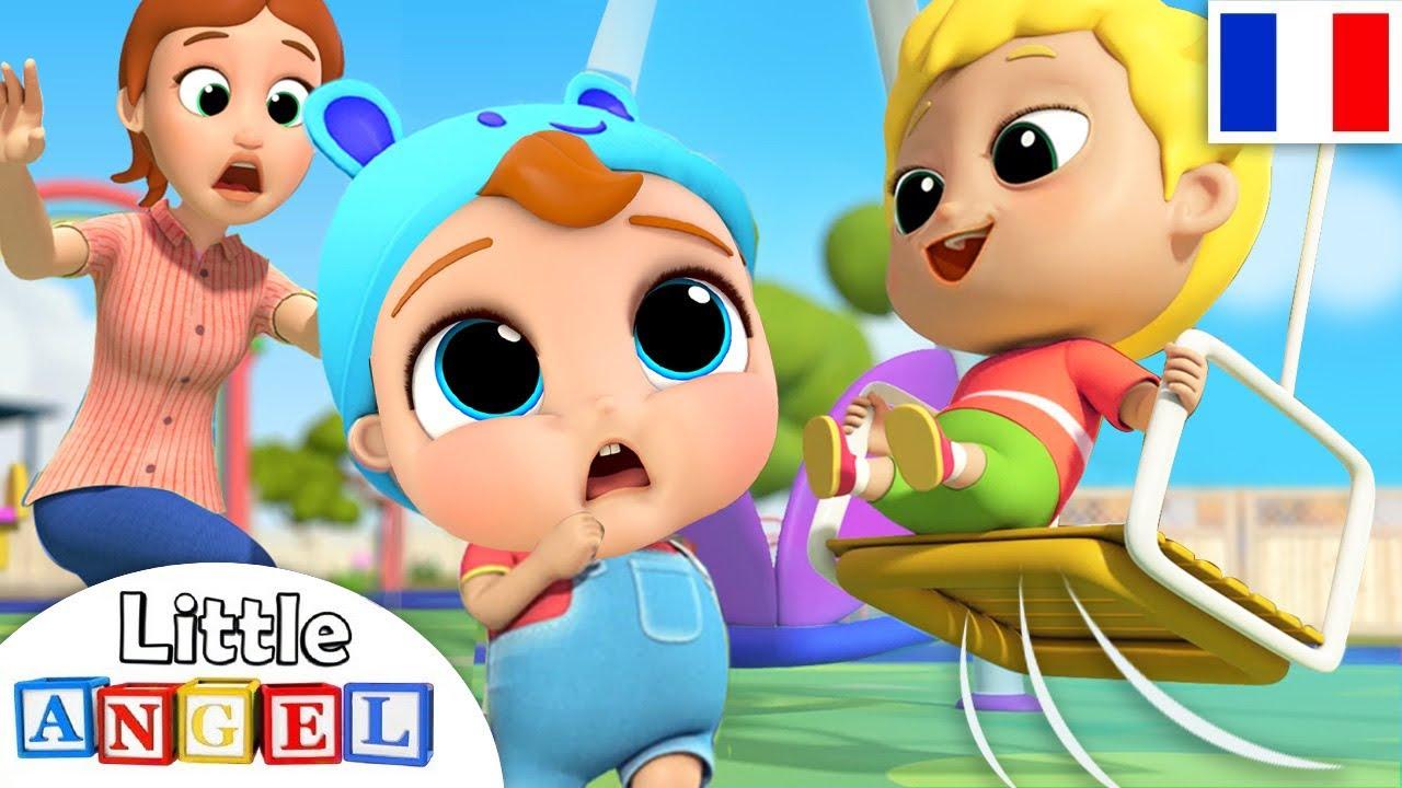 Bébé Louis Au Parc De Jeux - Comptines Pour Bébé | Little avec Comtine Bebe
