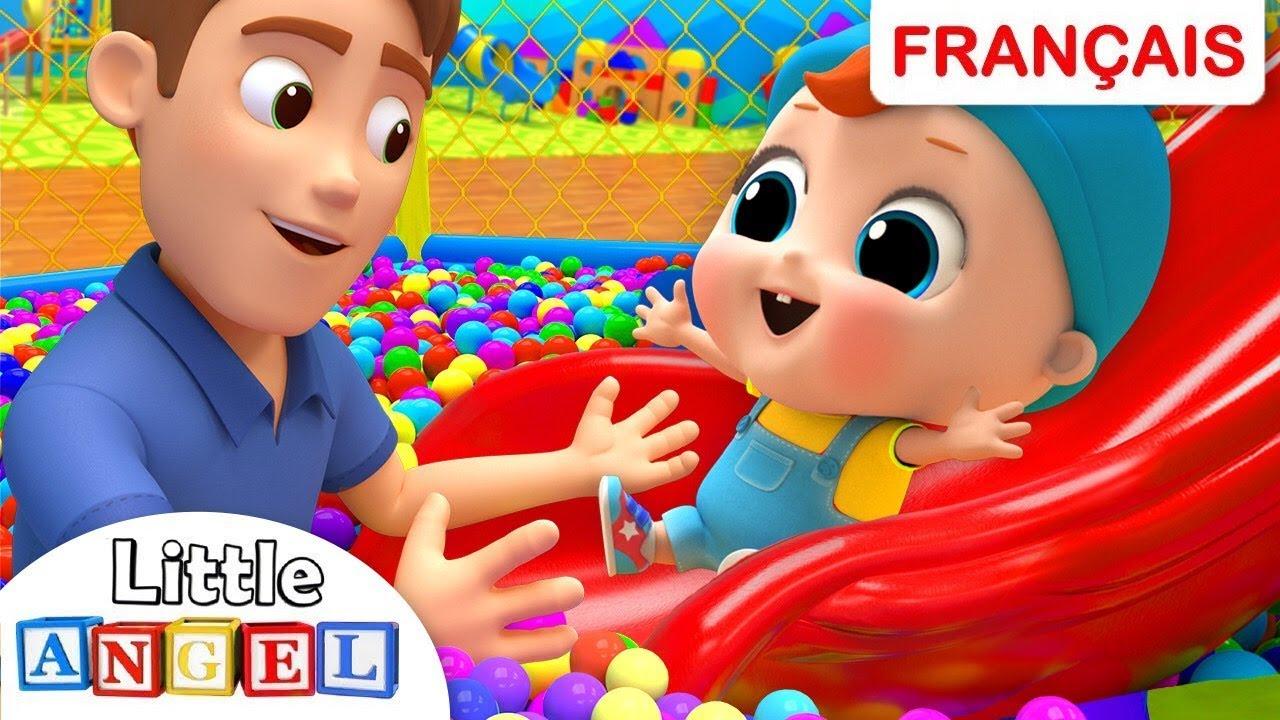 Bébé Louis Au Parc De Jeux Pour Enfants | Comptines Et intérieur Comtine Bebe