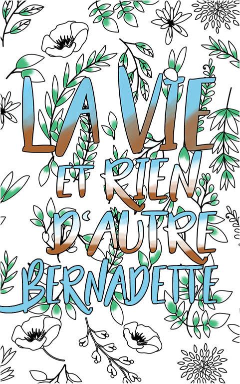 Bernadette Est Formidable. Le Livre Personnalisé De encequiconcerne Livre Coloriage Personnalisé