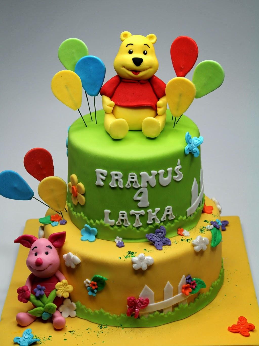 Best Birthday Cakes In London - Pinkcakeland encequiconcerne Pooh Gateau