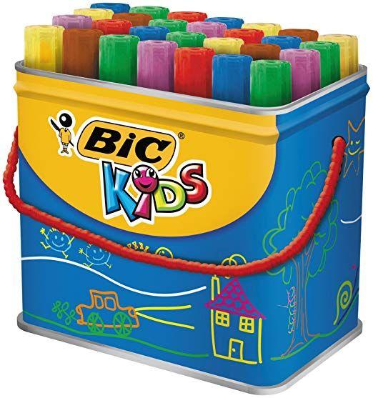 Bic Kids Decoralo Feutres De Coloriage - Boîte Métallique pour Boite De Feutres Coloriage
