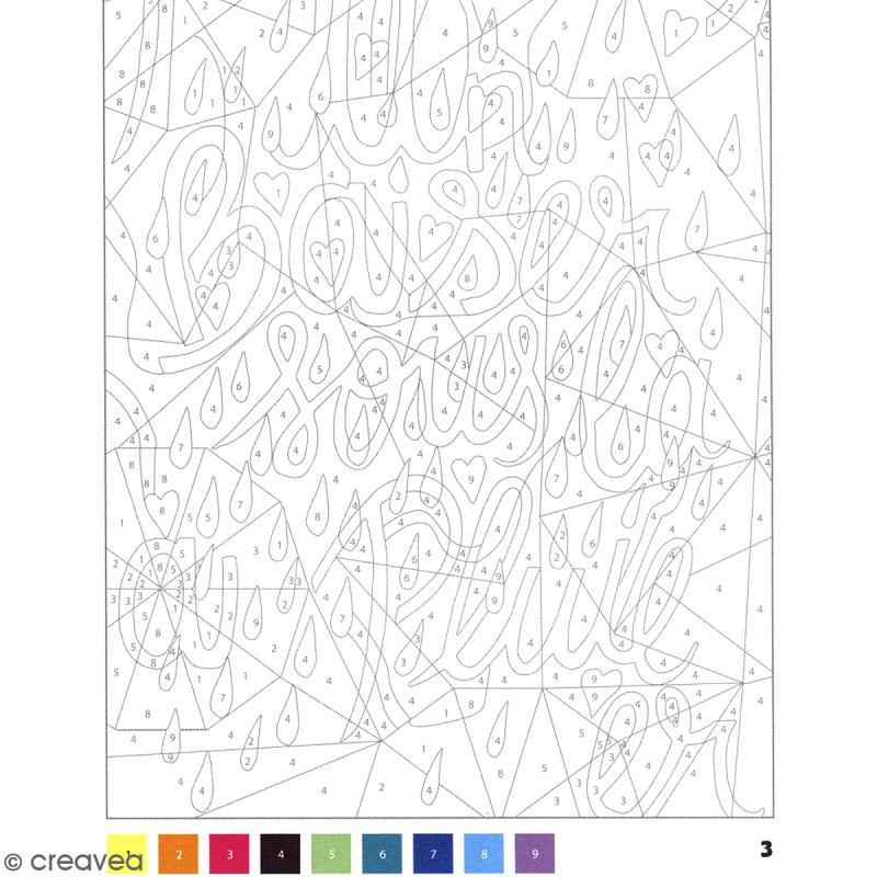 Bloc Coloriage Adulte 21 X 14,5 Cm - Messages Mystères Je tout Coloriage Mystere Disney A Imprimer