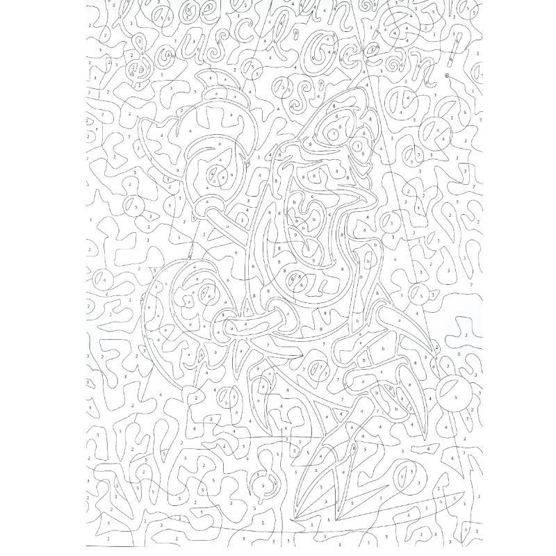 Bloc Coloriage Adulte A4 - Hakuna Matata Disney - 50 pour Coloriage Mystere Disney