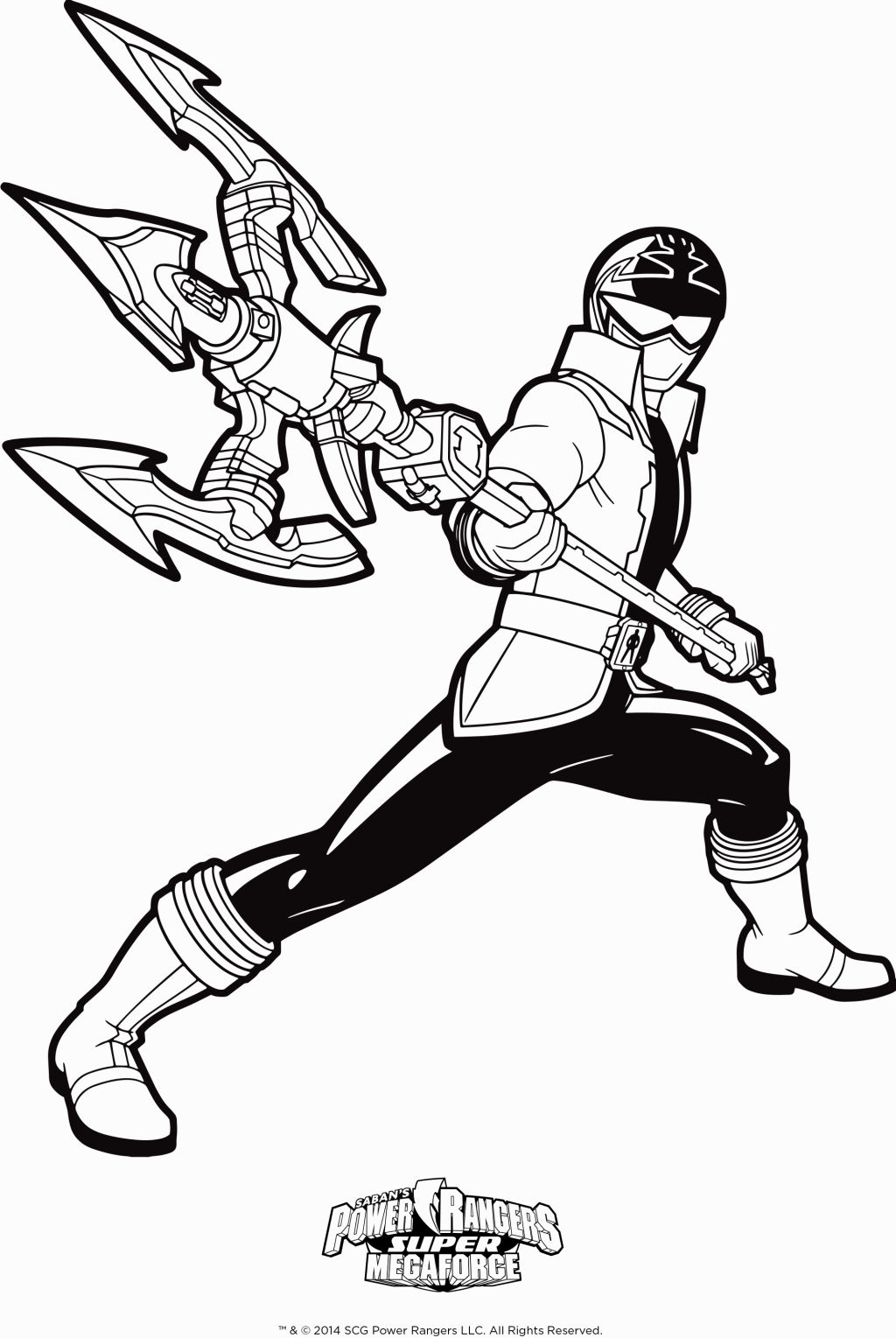 Blue Power Ranger Coloring Pages At Getdrawings | Free intérieur Coloriage Power Rangers Ninja Steel A Imprimer
