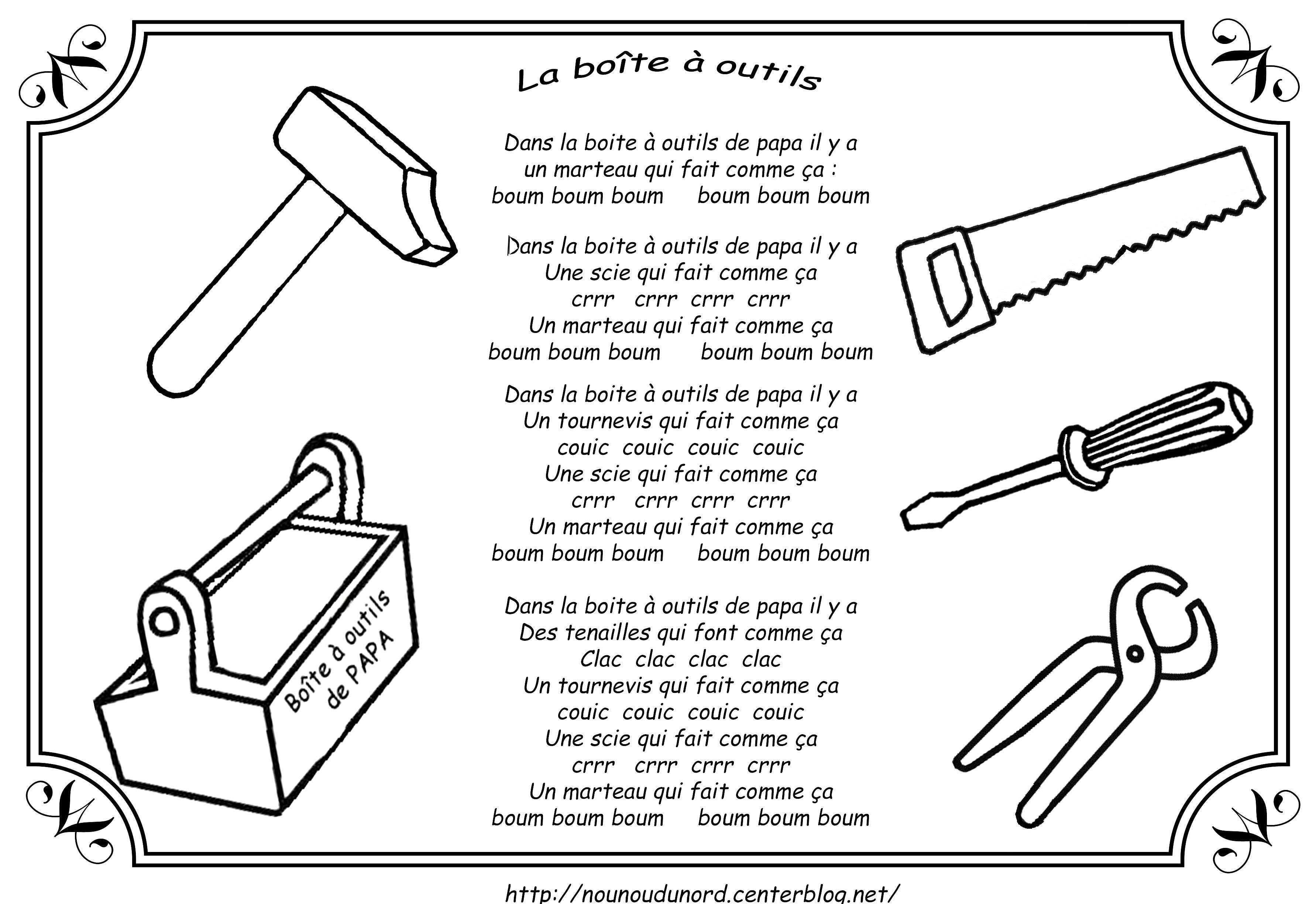 Boite A Outils Bricolage – L'Artisanat Et L'Industrie intérieur Dessin Pour Anniversaire Papa