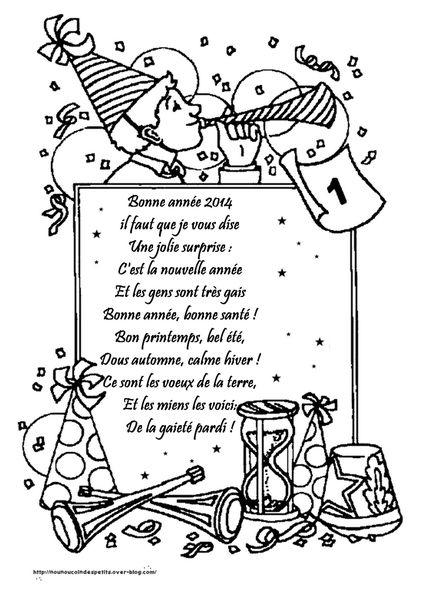 Bonne Anne: Poeme Bonne Annee 2019 Maternelle avec Poeme De Regime De Nouvelle Annee