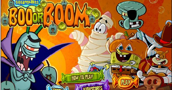 Boo Or Boom - A Free Online Nickelodeon Game serapportantà Jeux Bonbon Boy