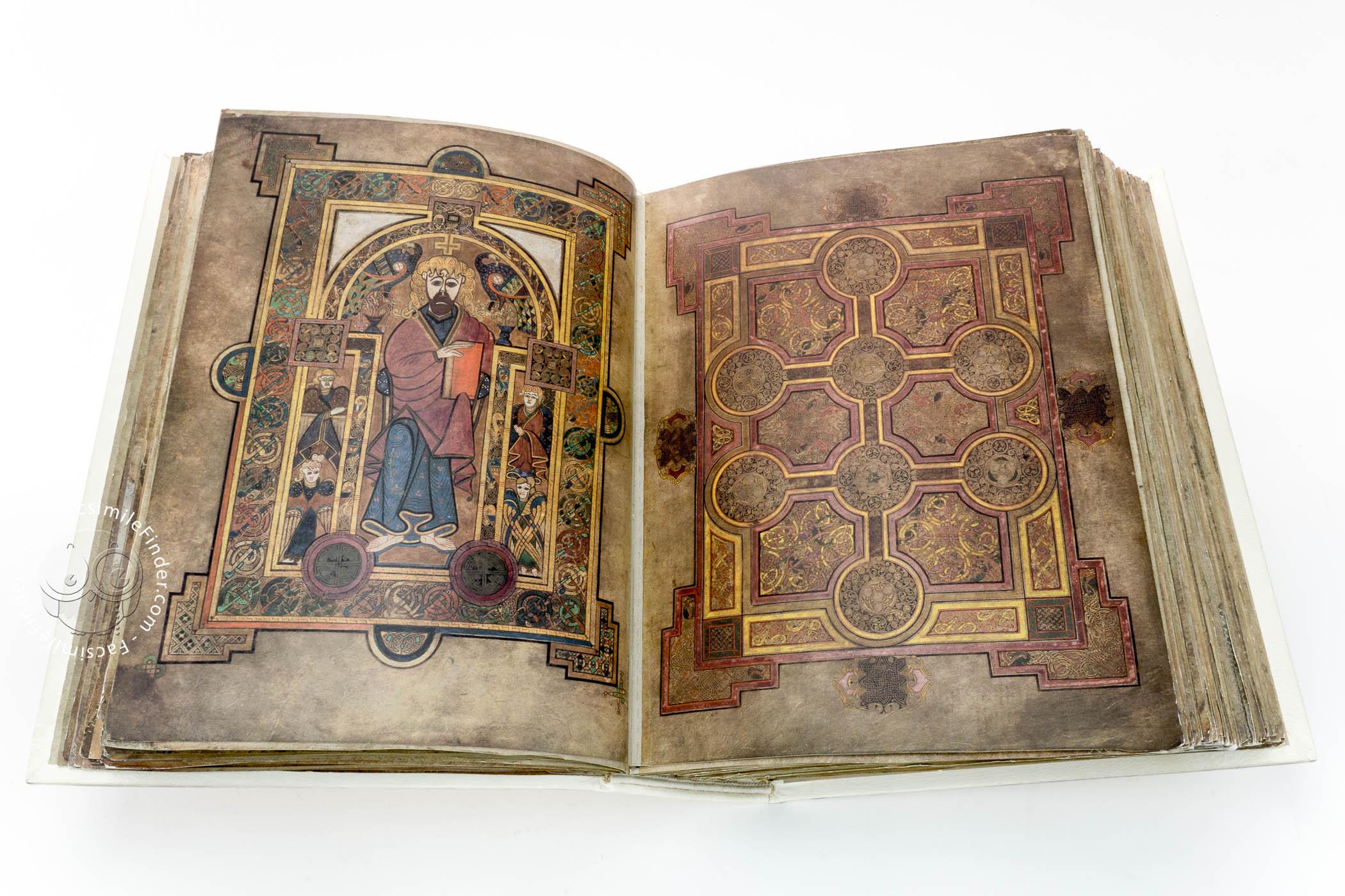 Book Of Kells « Facsimile Edition serapportantà Script In The Book Of Kells