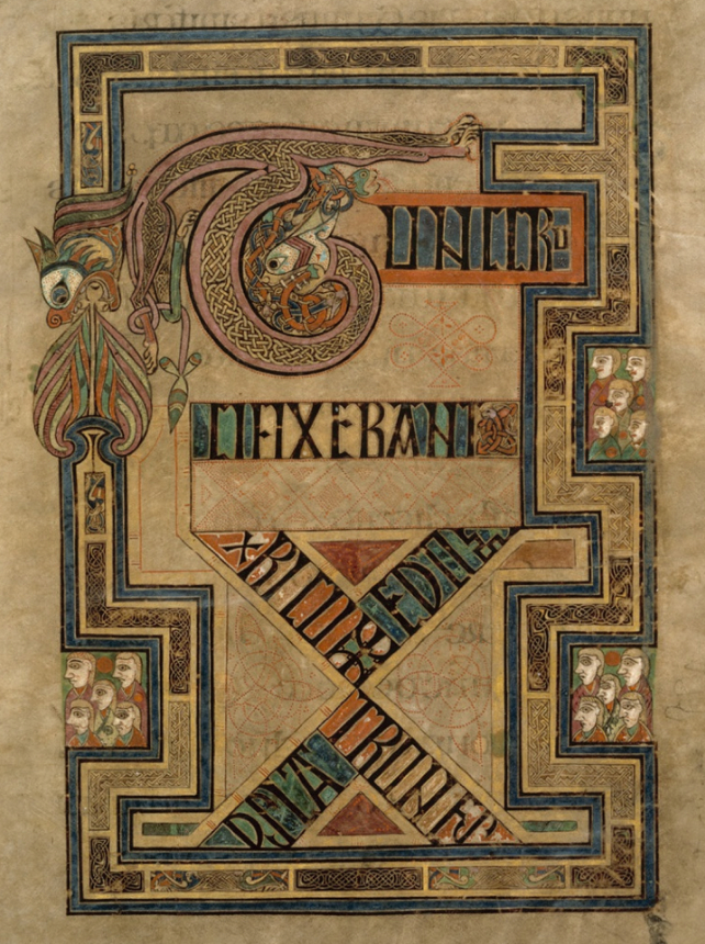 Book Of Kells Online, P. 246 - Full Page. Trinity College dedans Book Of Kells .Asp?Id=