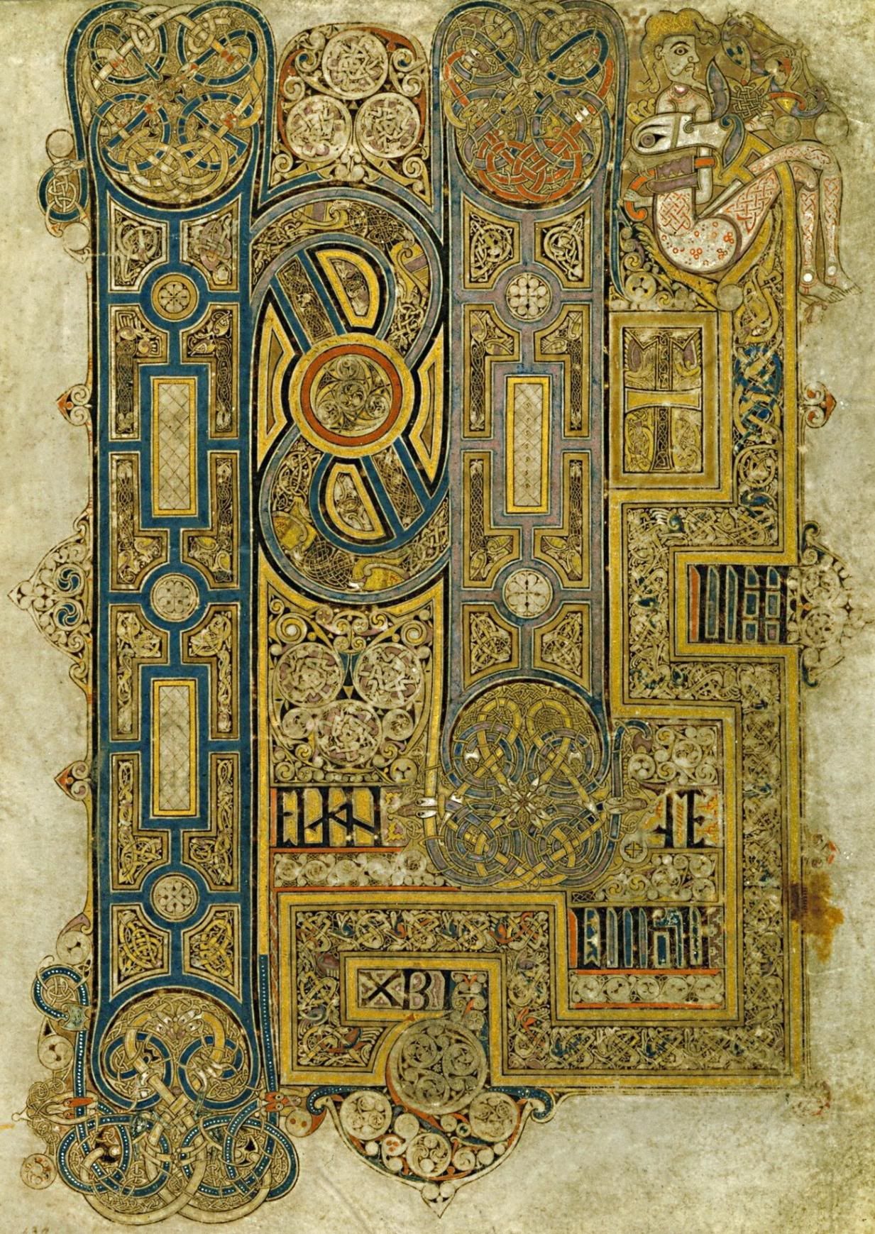 Book Of Kells Photo -258 (With Images) | Book Of Kells destiné Script In The Book Of Kells