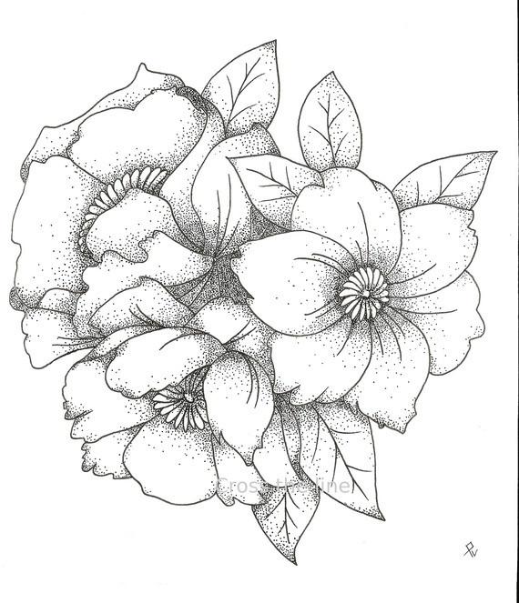 Bouquet De Fleurs Dessin – 3 Design à Coloriage Bouquet De Fleurs A Imprimer