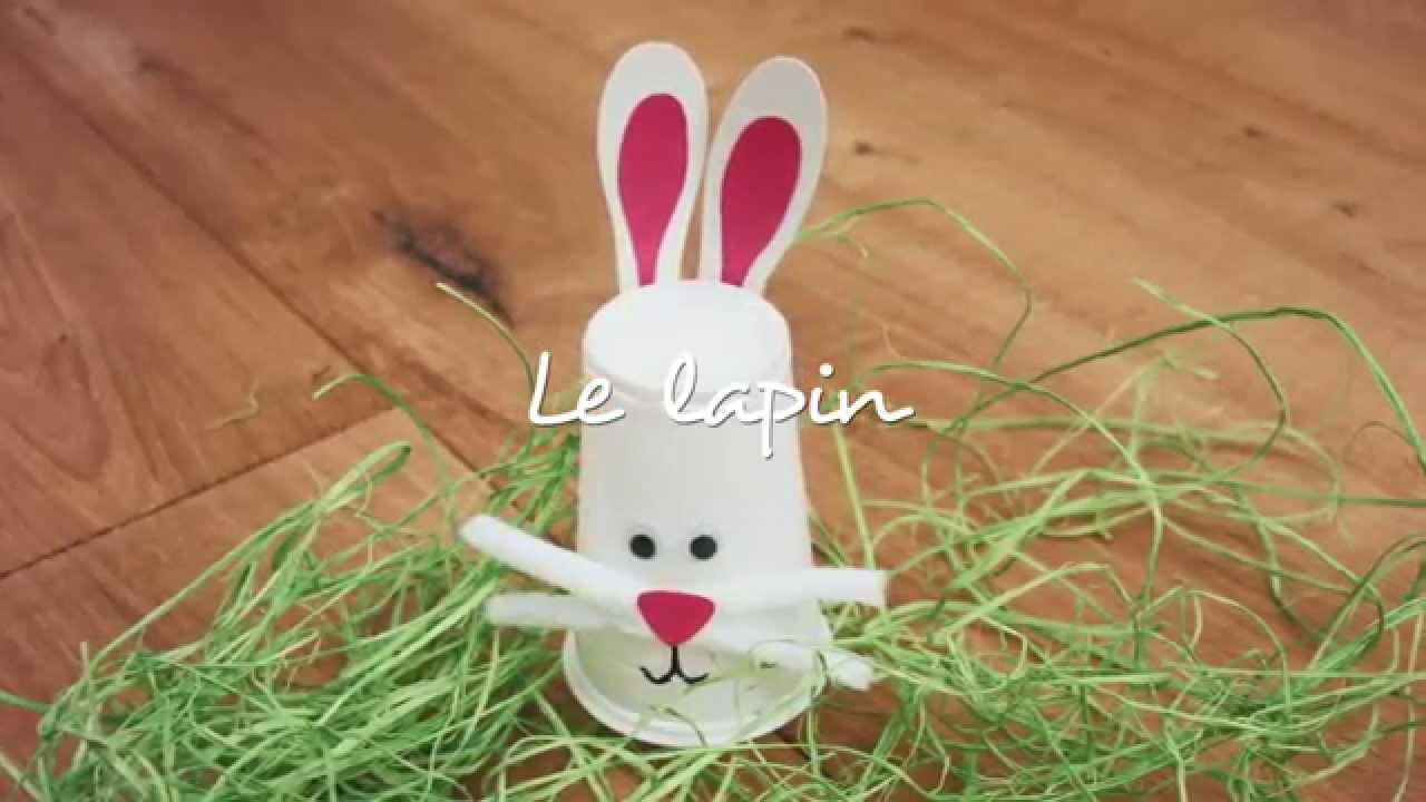 Bricolage - Le Lapin - destiné Origine Lapin De Pâques