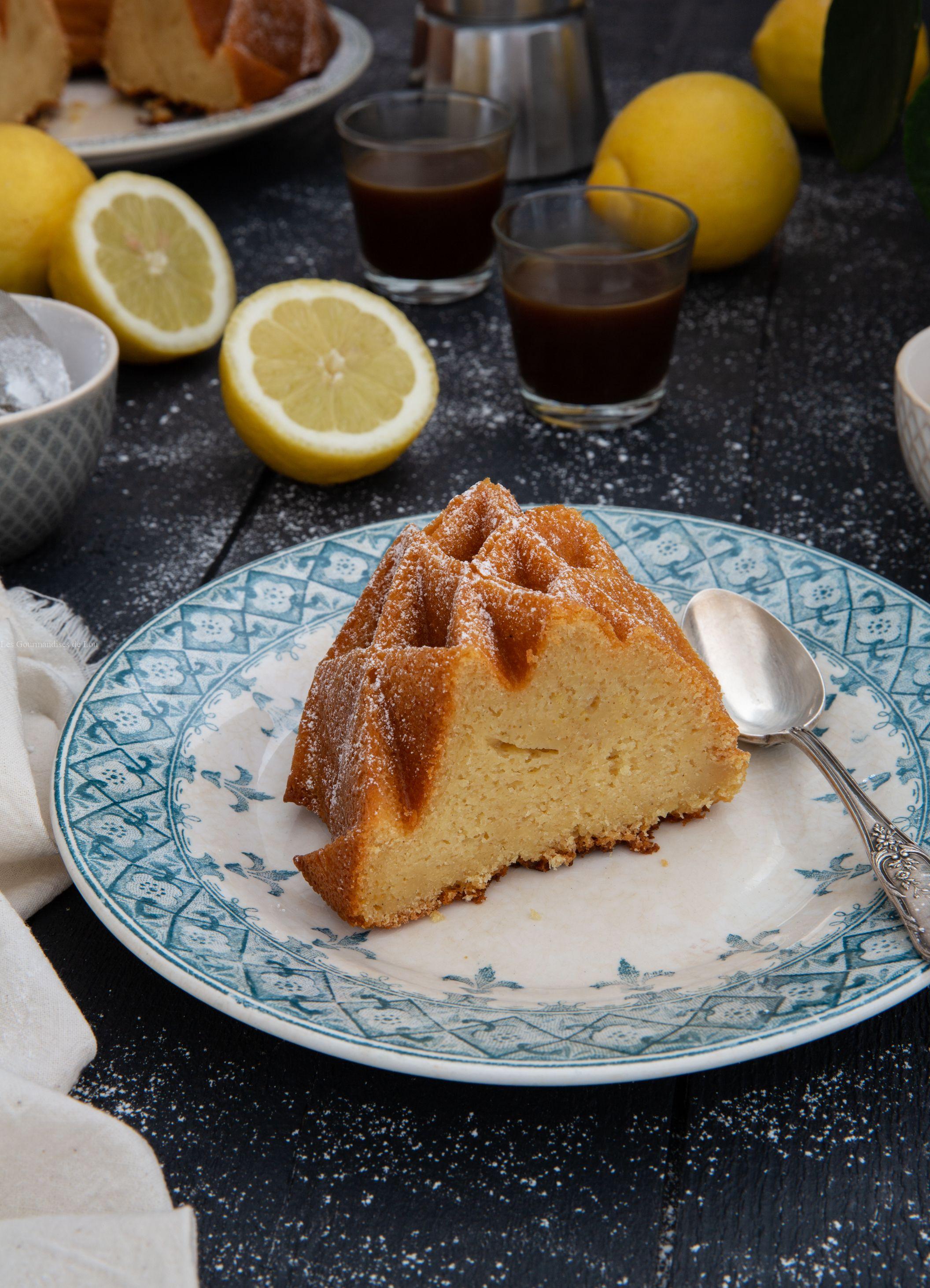 Bundt Cake Citron, Miel, Mascarpone | Alimentation avec Gateau Miel Citron