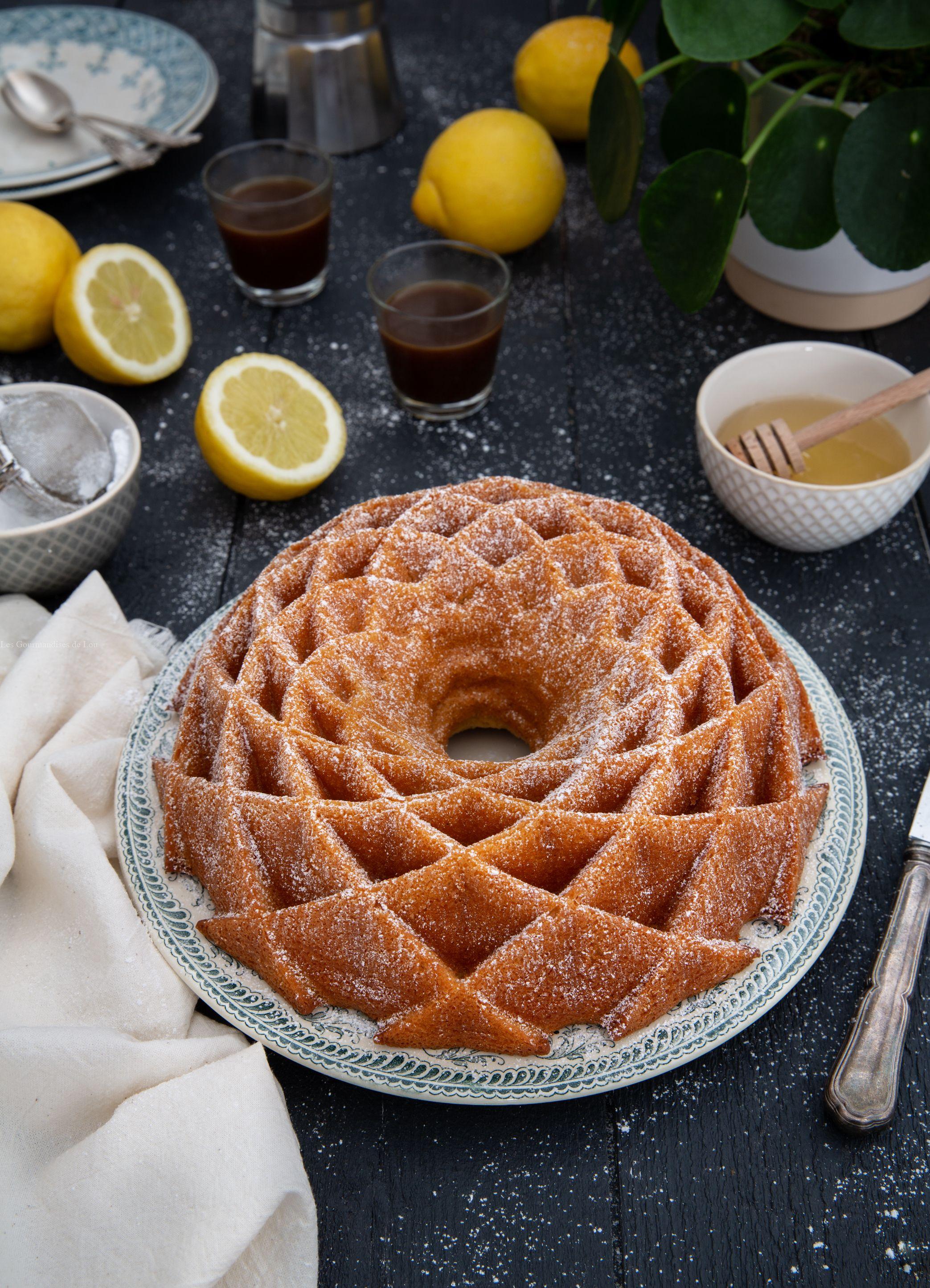Bundt Cake Citron, Miel, Mascarpone | Gâteaux Bundt avec Gateau Miel Citron