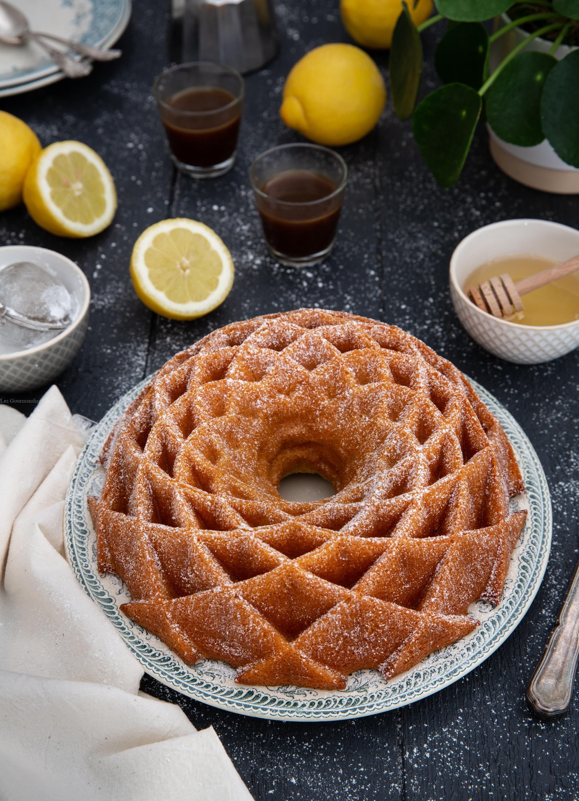 Bundt Cake Citron, Miel, Mascarpone - Les Gourmandises De Lou encequiconcerne Gateau Miel Citron