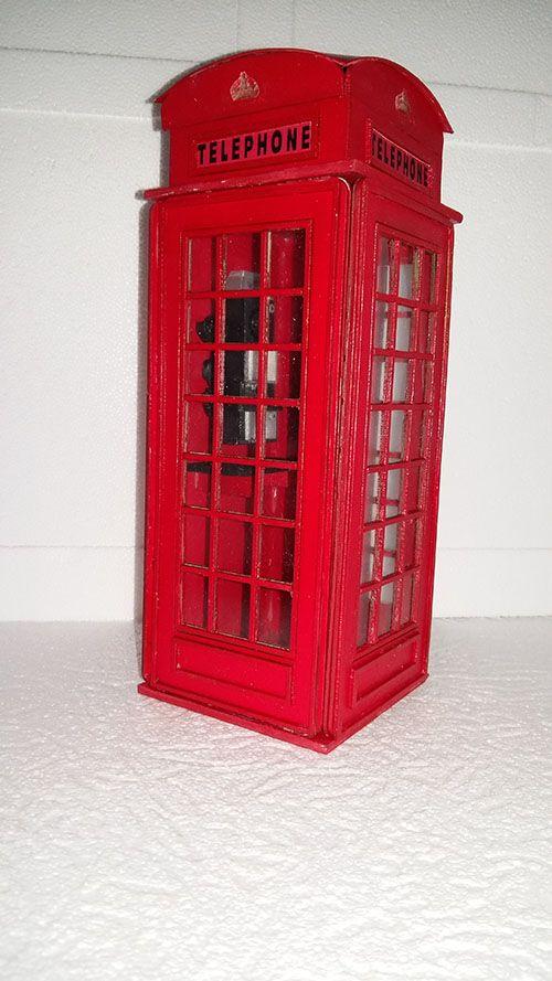 Cabine Téléphonique Anglaise Miniature Au 1:12 à Dessin Cabine Téléphonique Anglaise