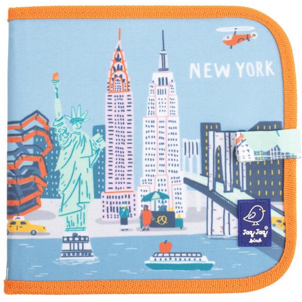 """Cahier Ardoise À Coloriage + Craies Butterstix """"New York avec Coloriage Ardoise"""