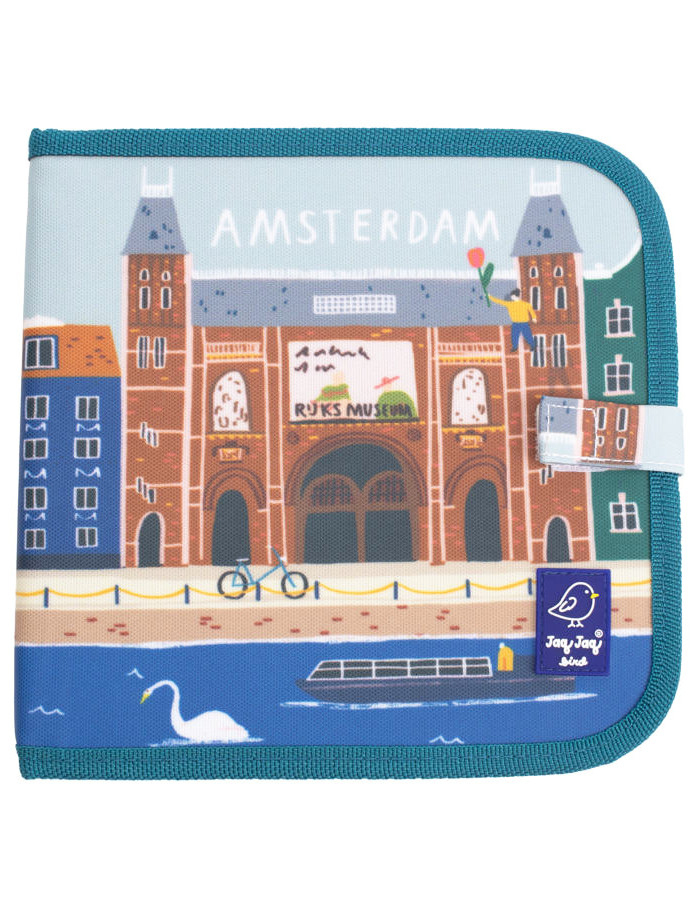 """Cahier Ardoise À Coloriage Et Dessins """"Amsterdam"""" Jaq Jaq Bird à Coloriage Ardoise"""