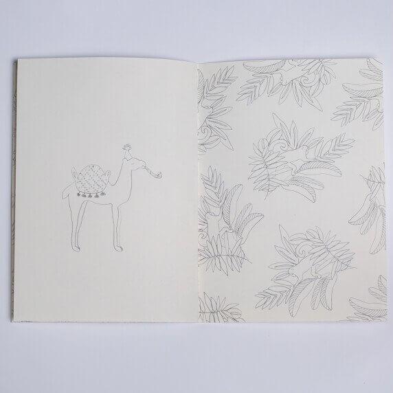 Cahier De Coloriages Pour Adultes - Jeudimerci - Cadeau à Cahier Coloriage Adulte