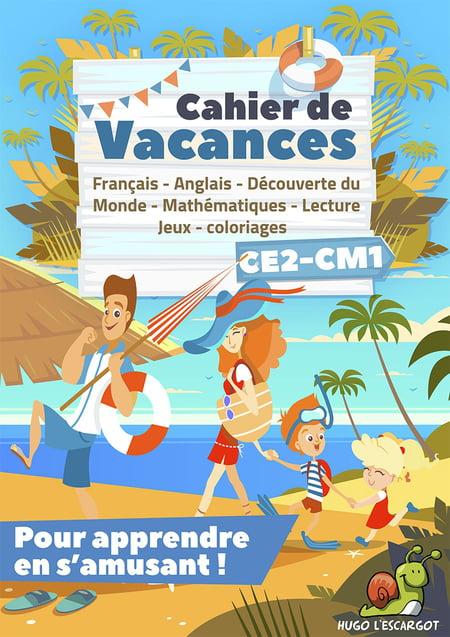 Cahier De Vacances Ce2-Cm1 destiné Hugo L Escargot Jeux