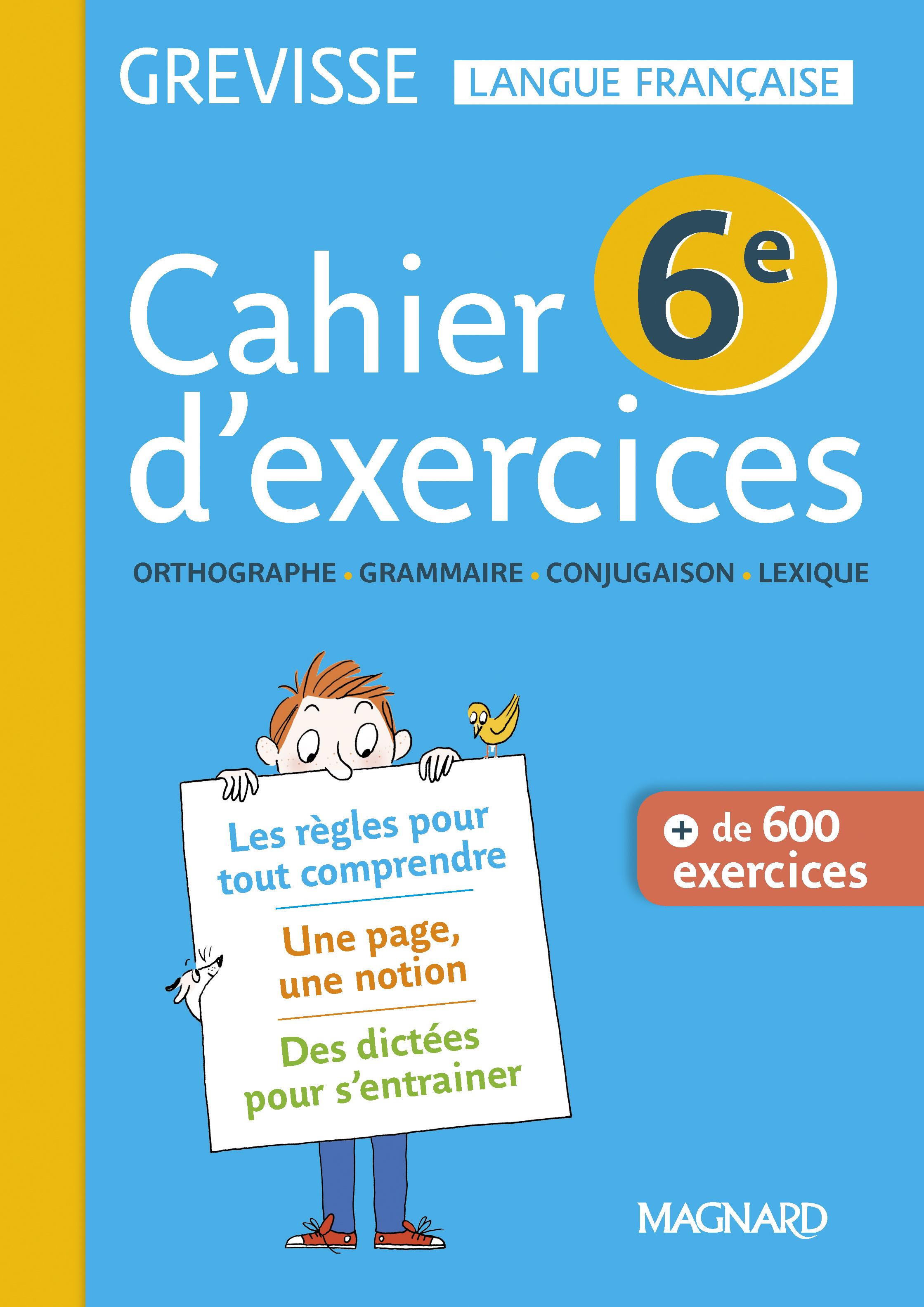 Cahier Grevisse 6E (2018) | Magnard Enseignants pour Manuel Exercices Iparcours Pdf