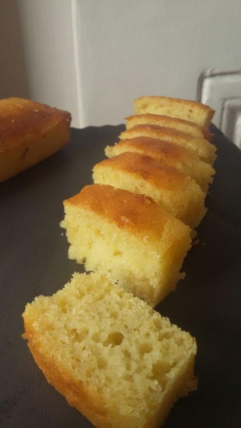 Cake Citron, Amande, Huile D'Olive Et Miel | Gateau Citron intérieur Gateau Miel Citron