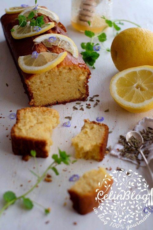 Cake Citron, Miel Et Lavande | Alimentation, Gâteaux serapportantà Gateau Miel Citron