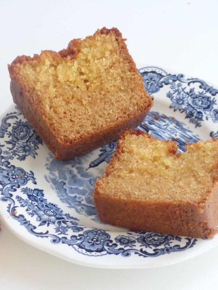 Cake Façon Madeleine Miel-Citron - Olivia Pâtisse concernant Gateau Miel Citron