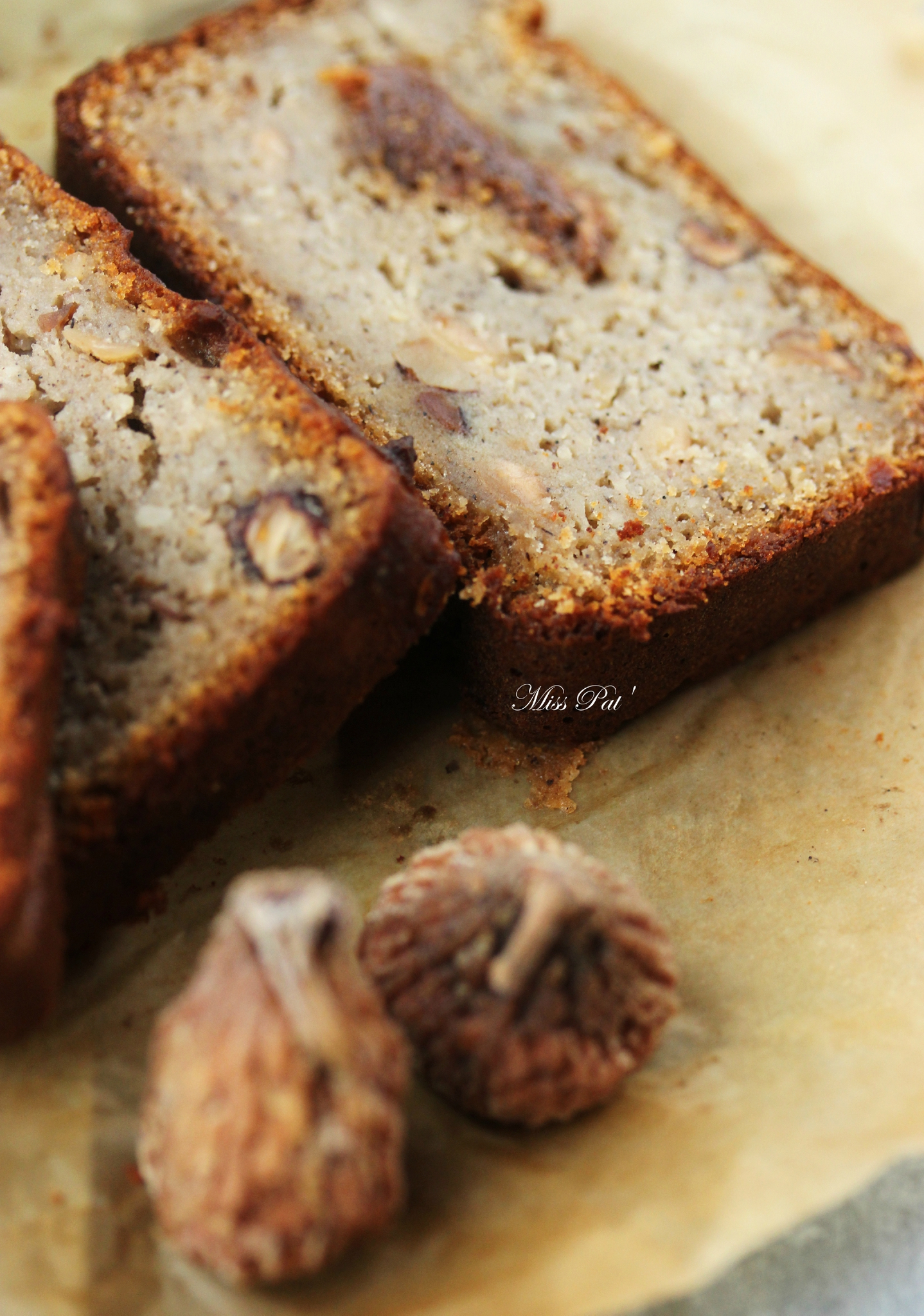 Cake Pudding Noisettes Et Figues {Vegan Et Sans Gluten destiné Monder Noisettes