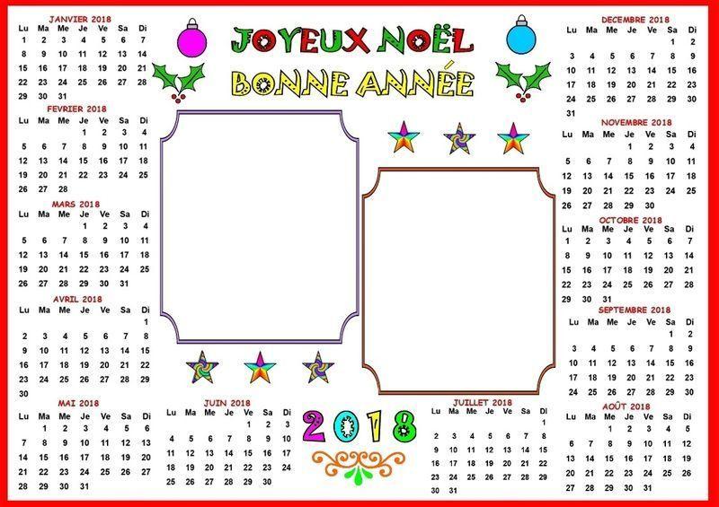 Calendrier 2018 A Imprimer Nounou Du Nord tout Nounou Du Nord