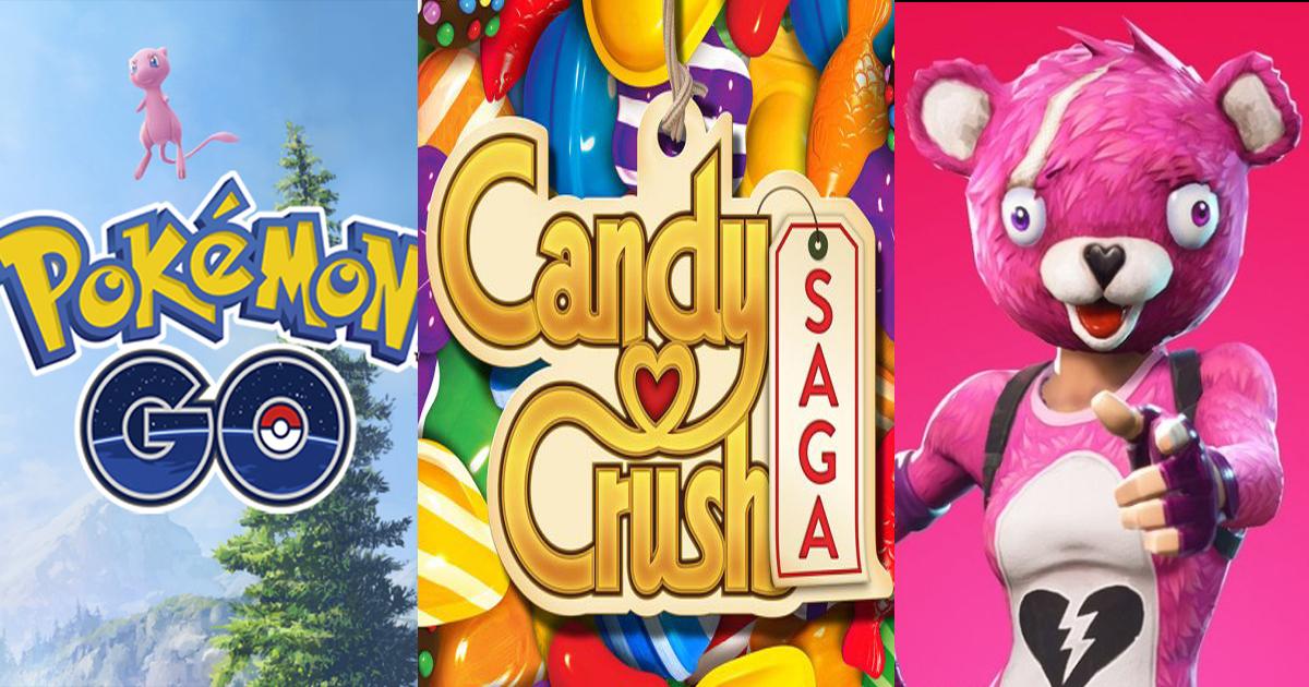 Candy Crush, Fortnite, Pokémon Go, Qui A Rapporté Le Plus intérieur Jeux Bonbon Boy