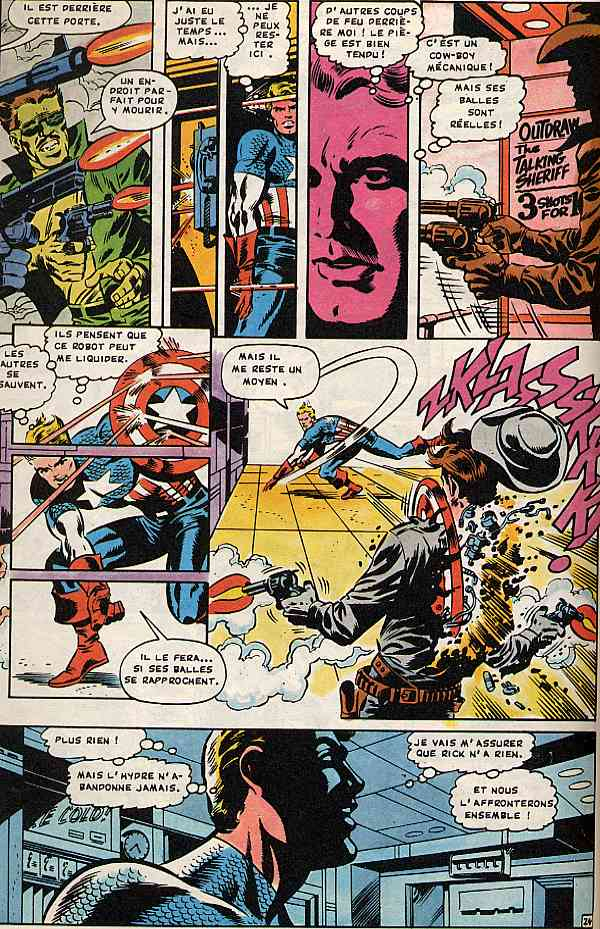Captain America (Aredit/Artima 2E Série) - Bd encequiconcerne Jeux De Capitaine America Gratuit
