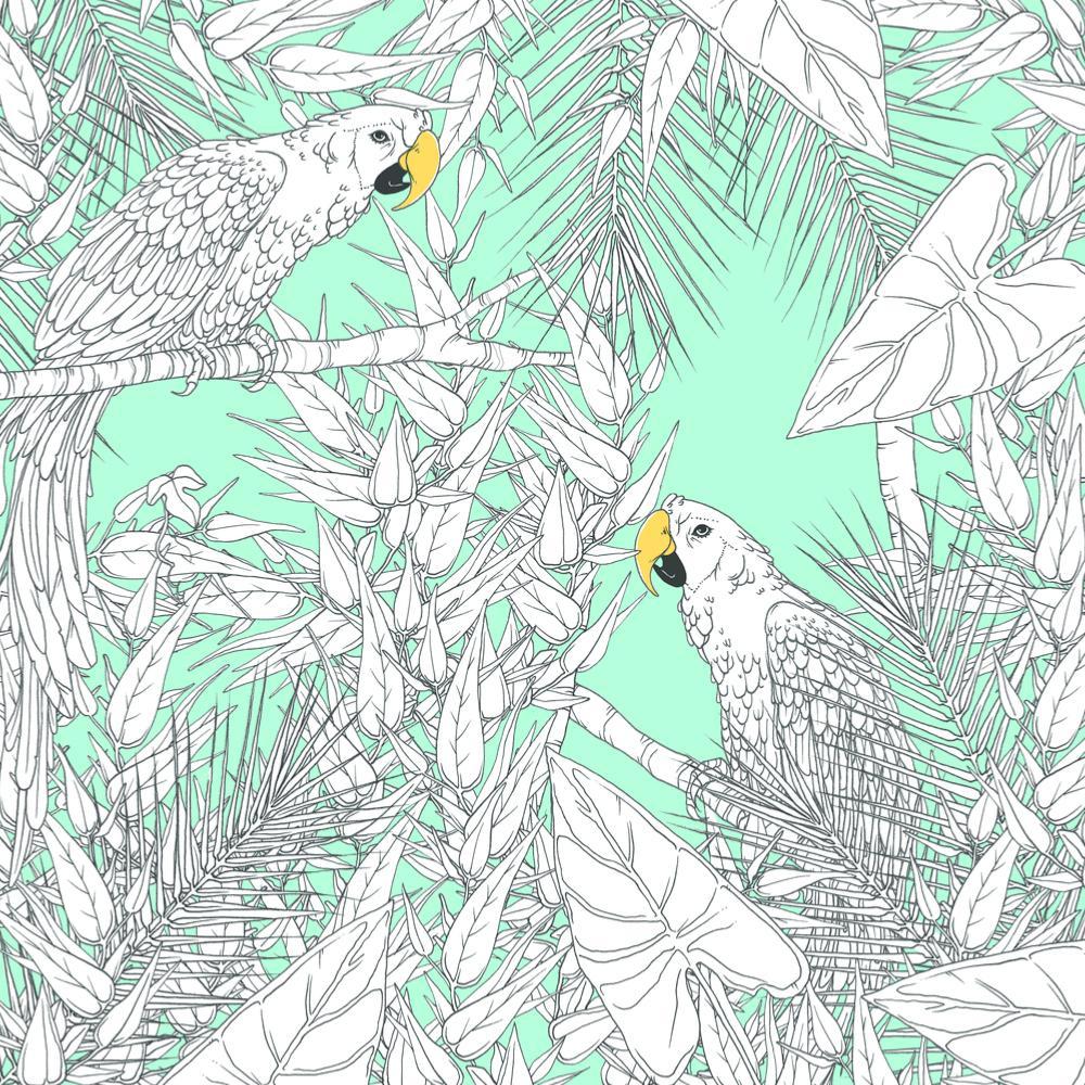 Carnet De Coloriage Pr Adulte 36P 20X20Cm Oiseaux pour Carnet De Coloriage