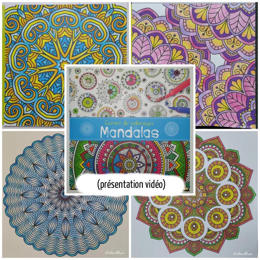 Carnet De Coloriages Mandalas 6, 7 Et 8 - Miss Voyou encequiconcerne Carnet De Coloriage