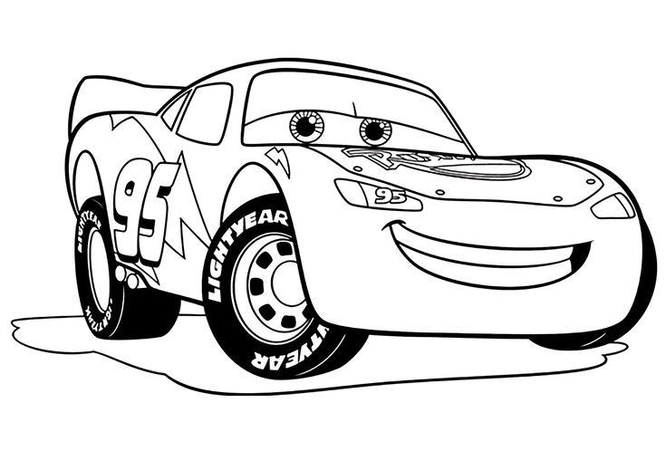 Cars 3 Flash Mc Queen | Coloriage Cars 3 - Coloriages Pour à Dessin A Colorier Cars