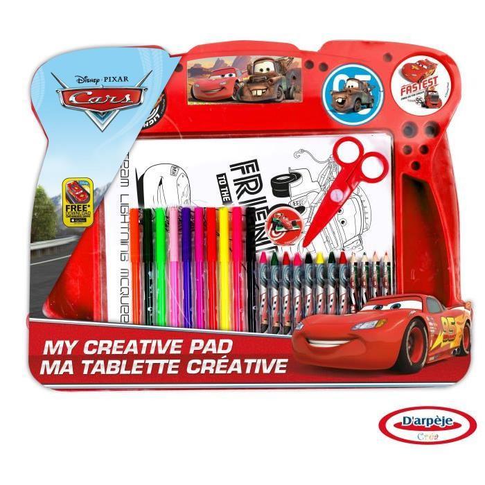 Cars - Tablette D'Activité - Coloriage - Découpage intérieur Coloriage Tablette