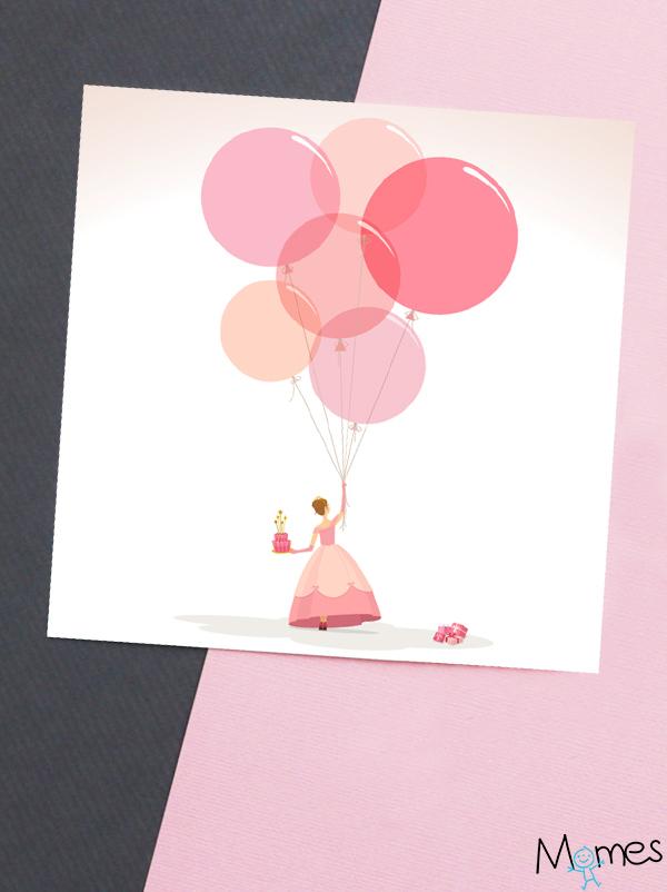 Carte Anniversaire Princesse À Imprimer - Momes concernant Image Anniversaire A Imprimer